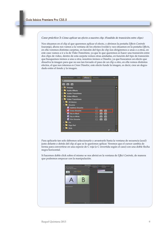Guía básica Premiere Pro CS5.5